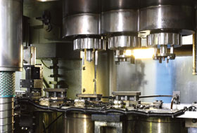 Cold forging parts production